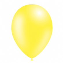 "Yellow 5 inch Balloons - Decotex 5"" Balloons 100pcs"